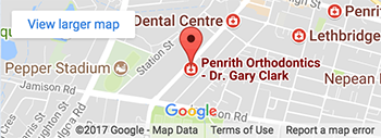 Map - Penrith Orthodontics